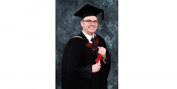 Adam Huckle electrical engineering graduation